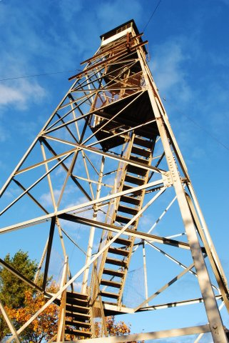Mount Pisgah Fire Tower Photograph: Brian Kent