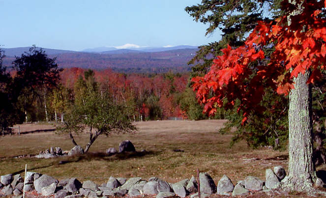 View of Mt. Washington from Sturtevant Farm. Photo: Arn Sturtevant