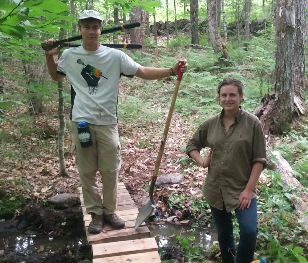 Stewardship and Trail Construction