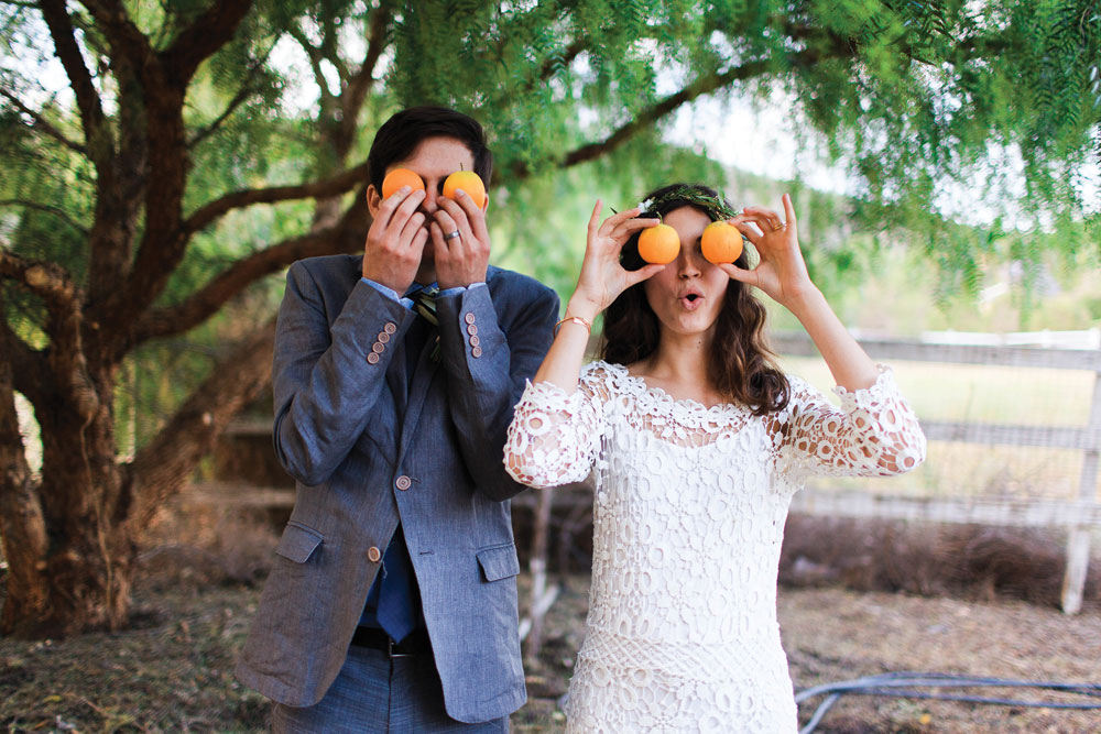 Orange Orchard Wedding // SoCal