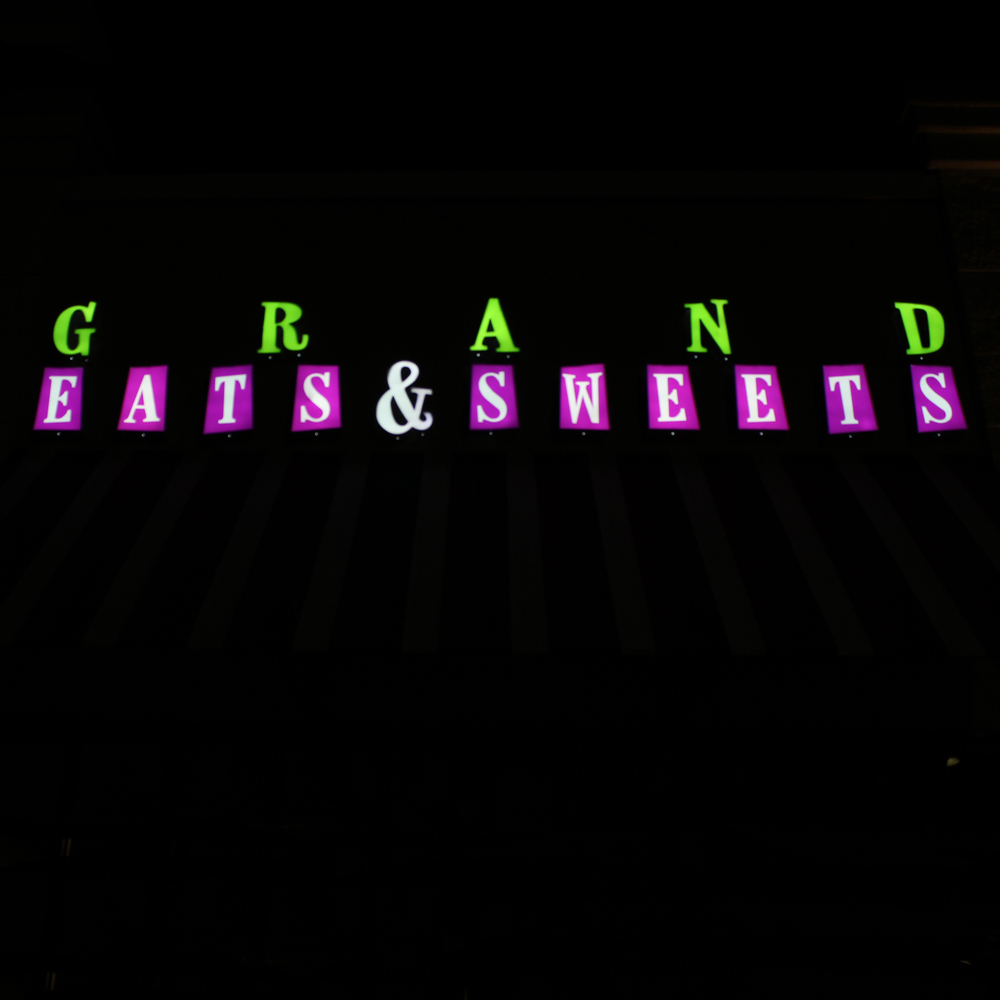 Signs | Grand Eats & Sweets Sign | Hanover, PA