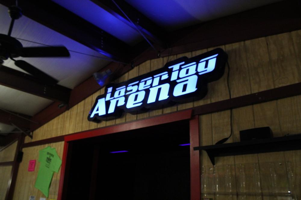 Signs | Hickory Falls Laser Tag Arena Sign | Hanover, PA