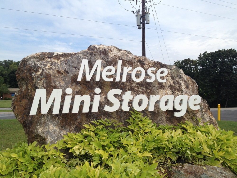 Signs | Melrose Mini Storage Sign | Westminster, MD