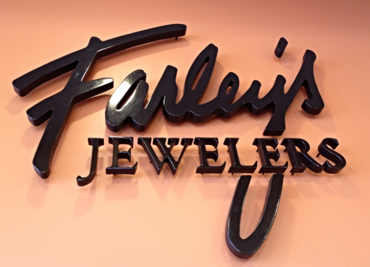 Signs | Farley's Jewelers Interior Sign | Hanover, PA