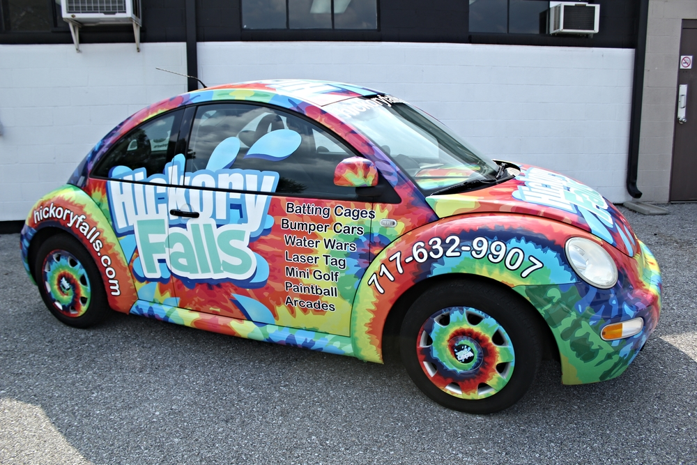 Graphics | Hickory Falls Bug Vehicle Wrap | Hanover, PA