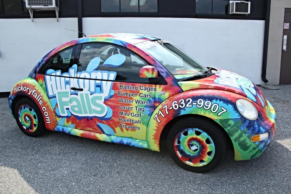 Graphics Hickory Falls Bug Vehicle Wrap Hanover Pa