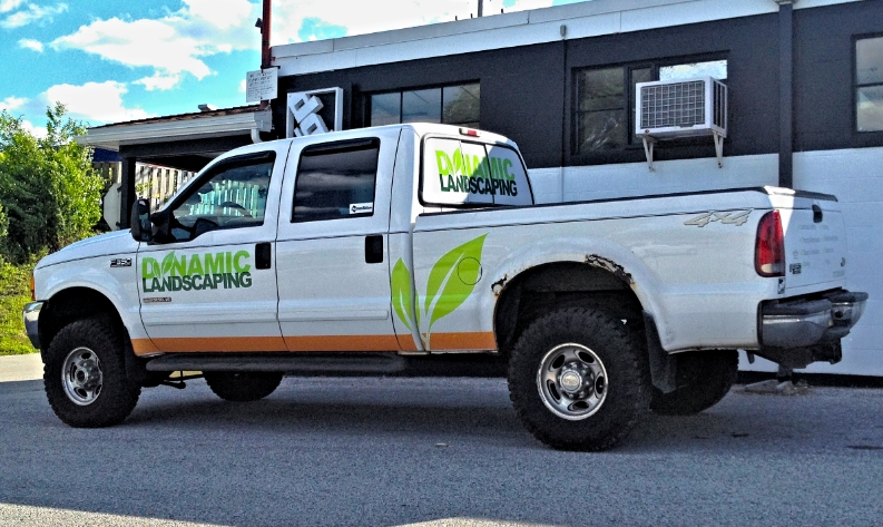 Graphics | Dynamic Landscaping Vehicle Wrap | Hanover, PA
