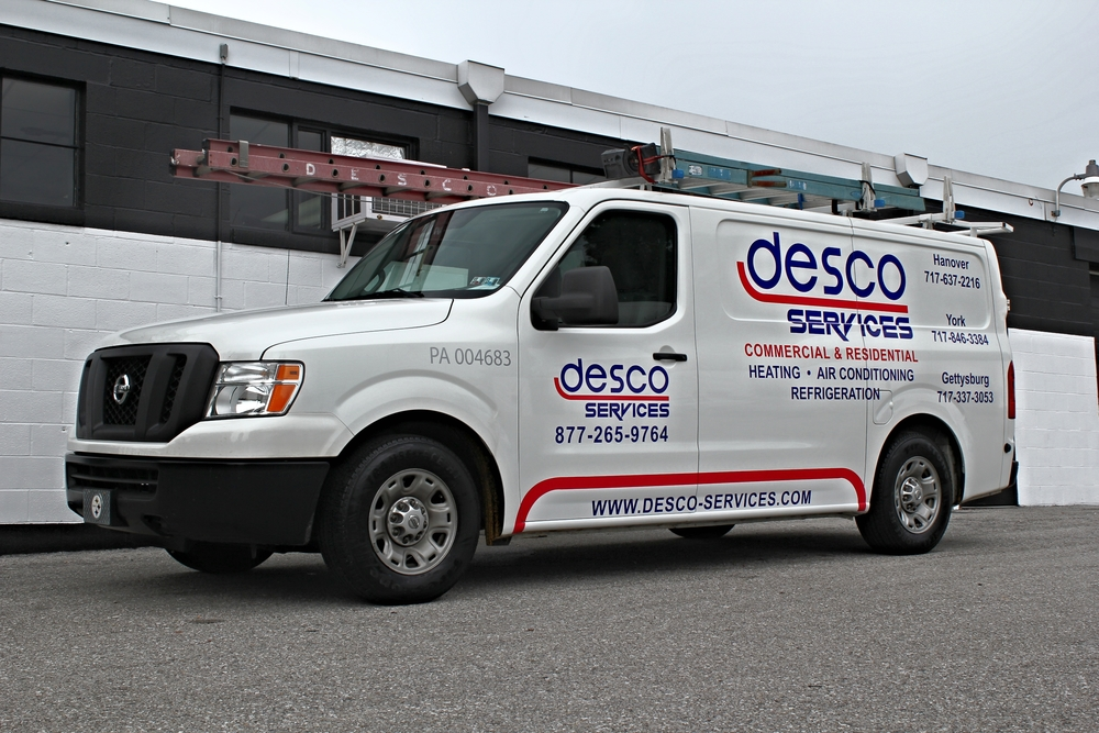Graphics | Desco Services Vehicle Wrap | Hanover, PA