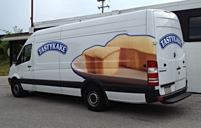 Graphics | Tastykake Vehicle Wrap | Hanover, PA