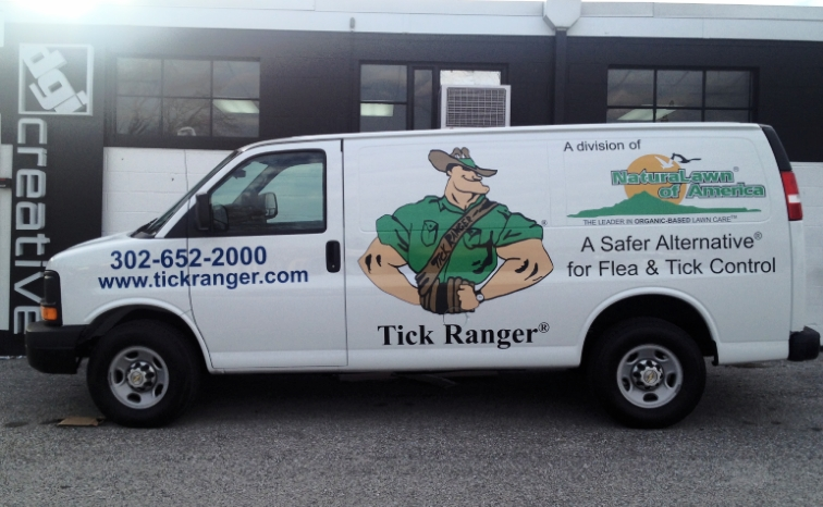 Graphics | Natural Lawn Tick Ranger Vehicle Wrap | Westminster, MD