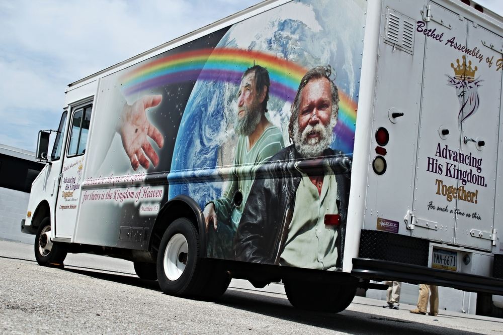 Graphics | Homeless Christian Outreach Vehicle Wrap | Littlestown, PA