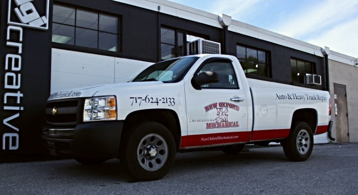 Graphics | New Oxford Mechanical Vehicle Wrap | New Oxford, PA