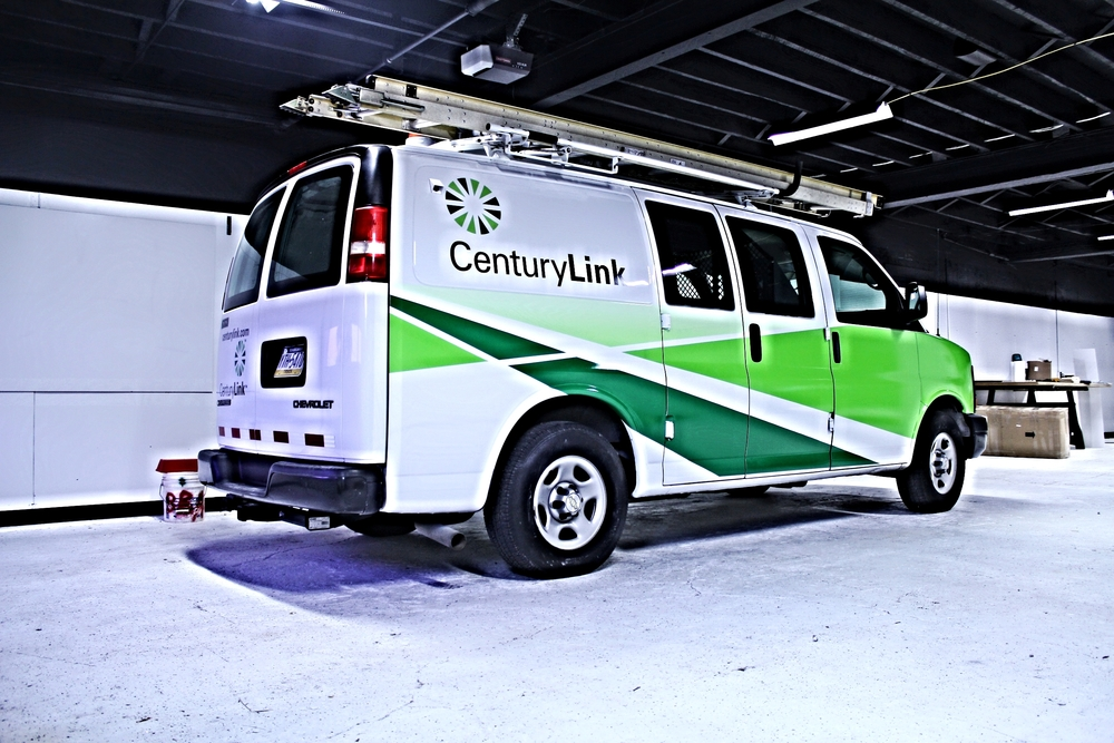 Graphics Century Link Vehicle Wrap Hanover Pa