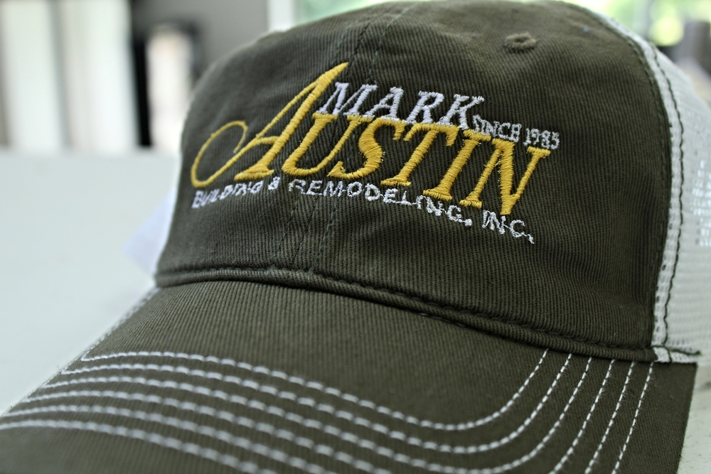 Embroidery | Mark Austin Building & Remodeling Hat | Hanover, PA