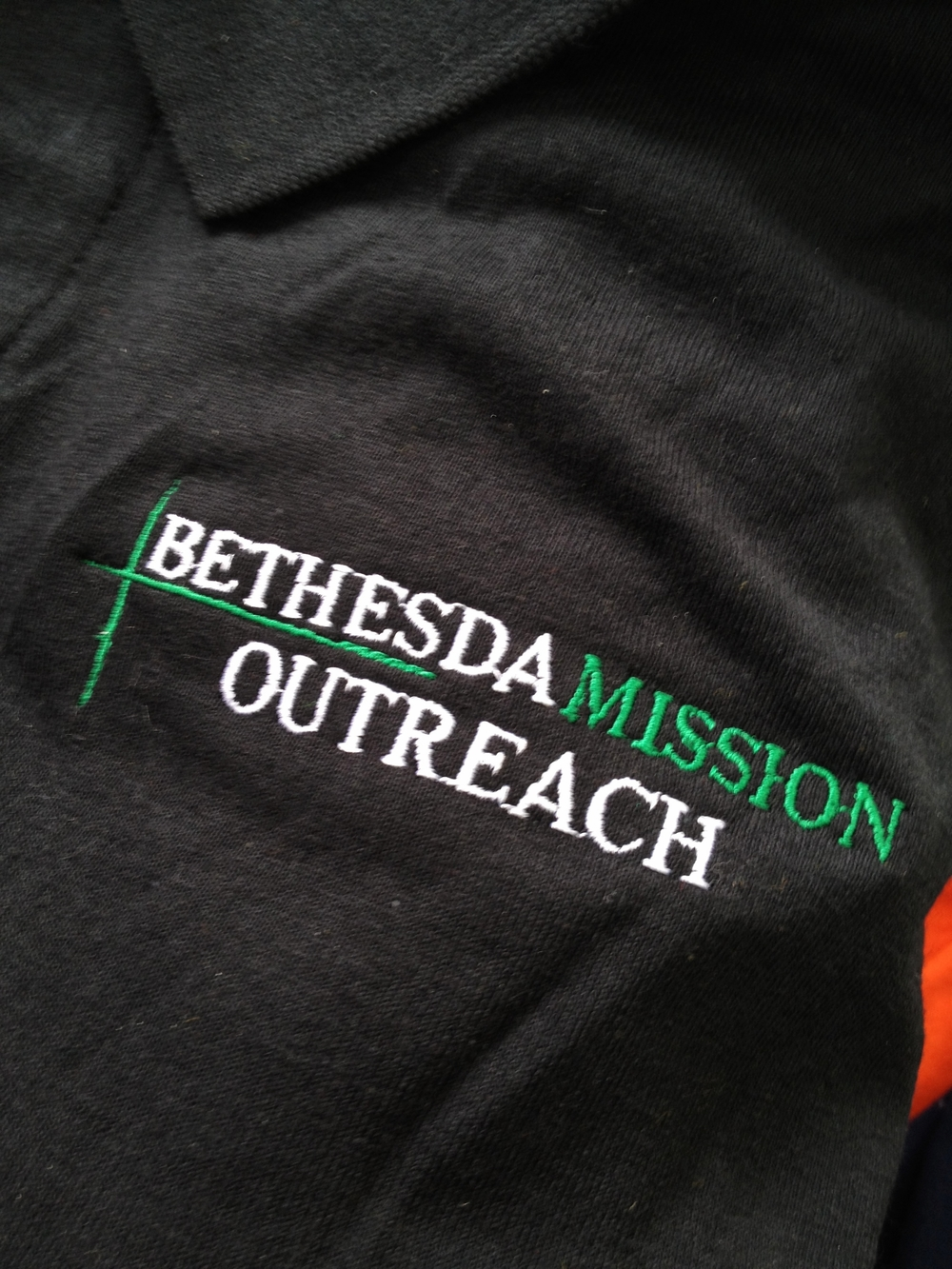 Embroidery | Bethesda Mission Outreach Shirt | Harrisburg, PA