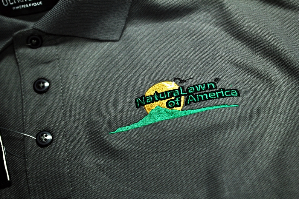 Embroidery | Natural Lawn of America Shirt | Westminster, MD