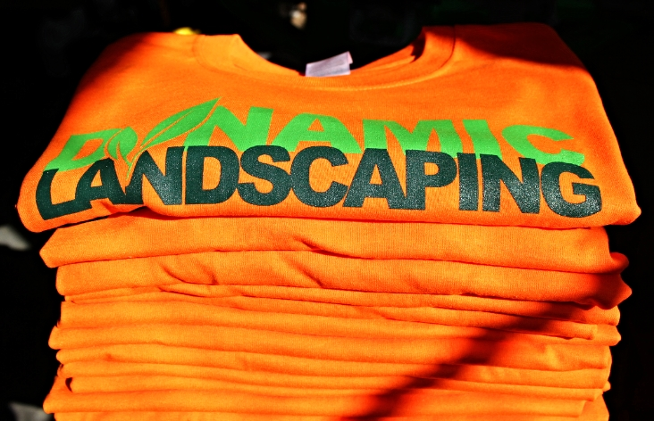 Screen Printing | Dynamic Landscaping Shirt | Hanover, PA
