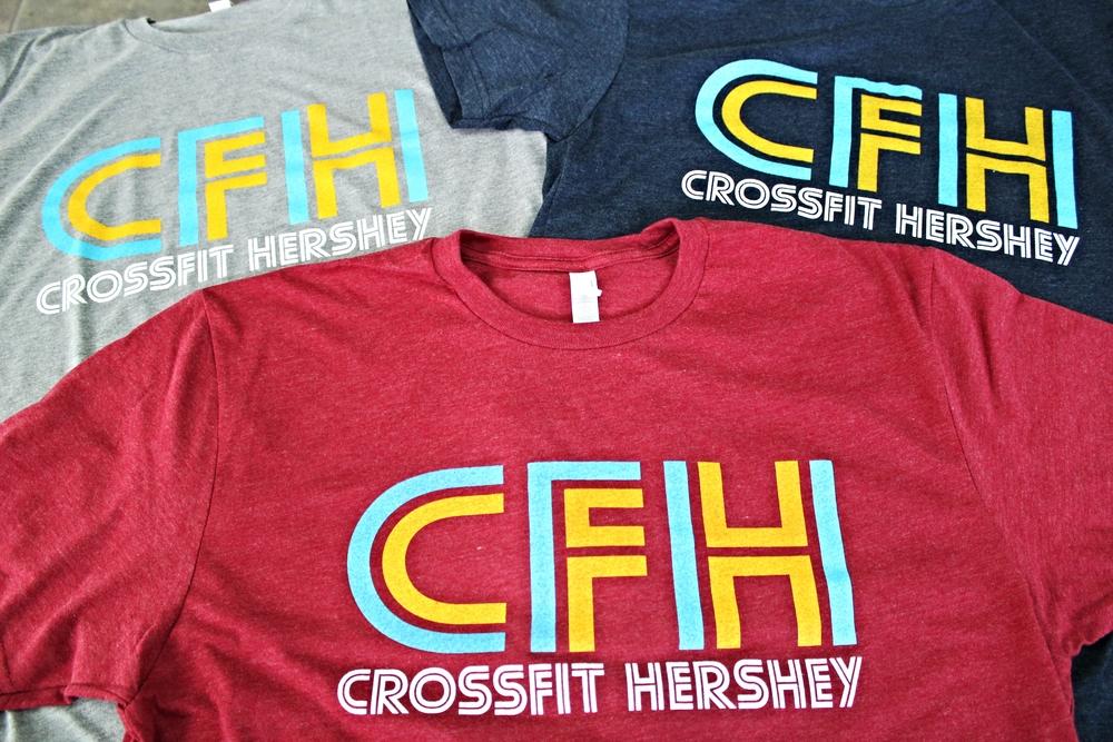 Screen Printing | CrossFit Hershey Shirt | Hershey, PA