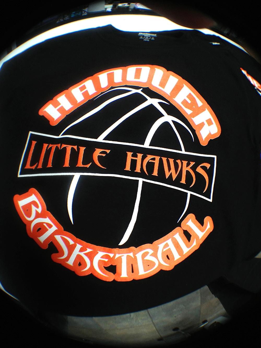 Screen Printing | Hanover Little Hawks Basketball Shirt | Hanover, PA