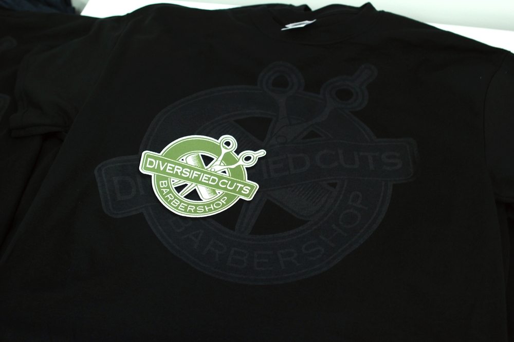 Screen Printing | Diversified Cuts Barbershop Shirt | Hanover, PA