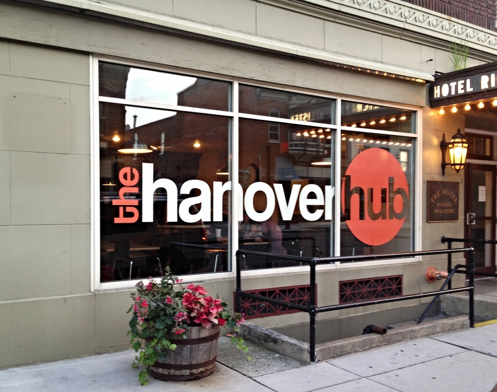 Graphics | The Hanover Hub Window Graphics | Hanover, PA