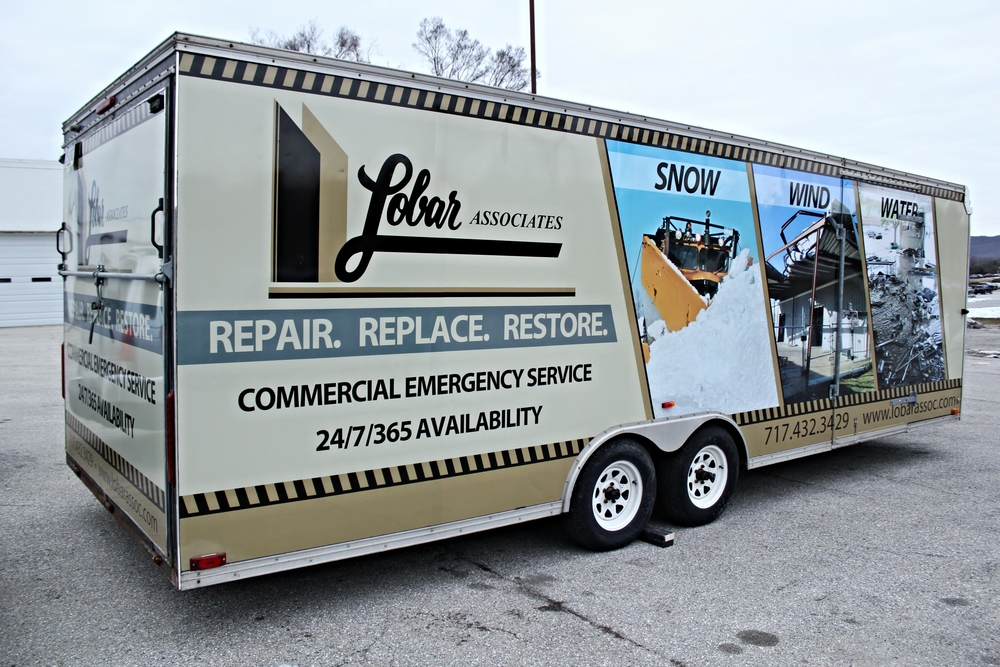 Graphics | Lobar Associates Rapid Response Trailer Wrap | Dillsburg, PA