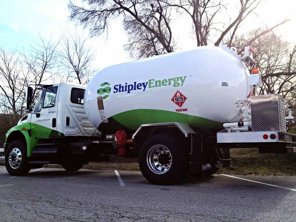 Graphics | Shipley Energy Propane Truck Wrap | Hanover, PA