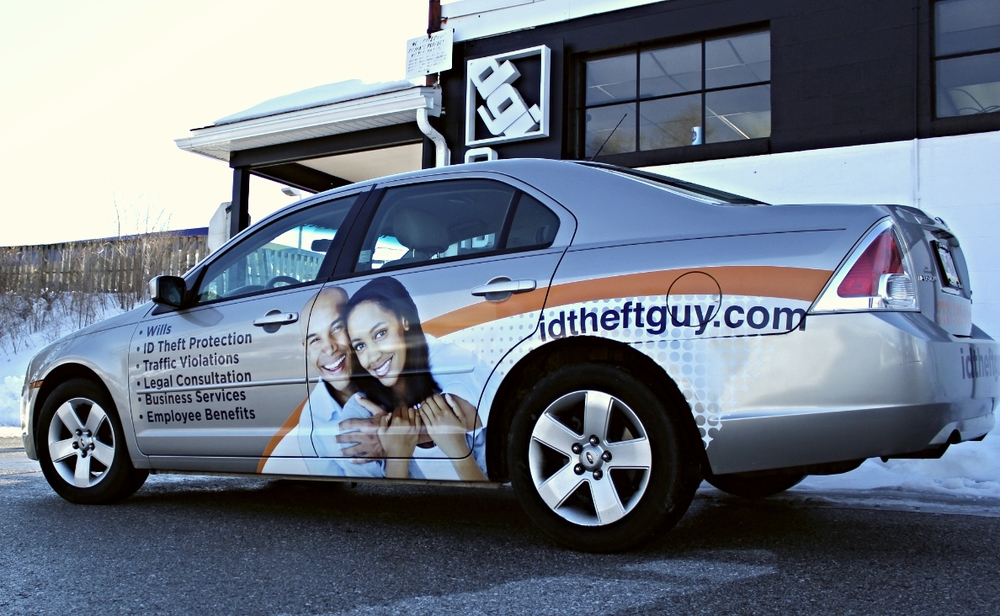Graphics | ID Theft Guy Vehicle Wrap | Hanover, PA