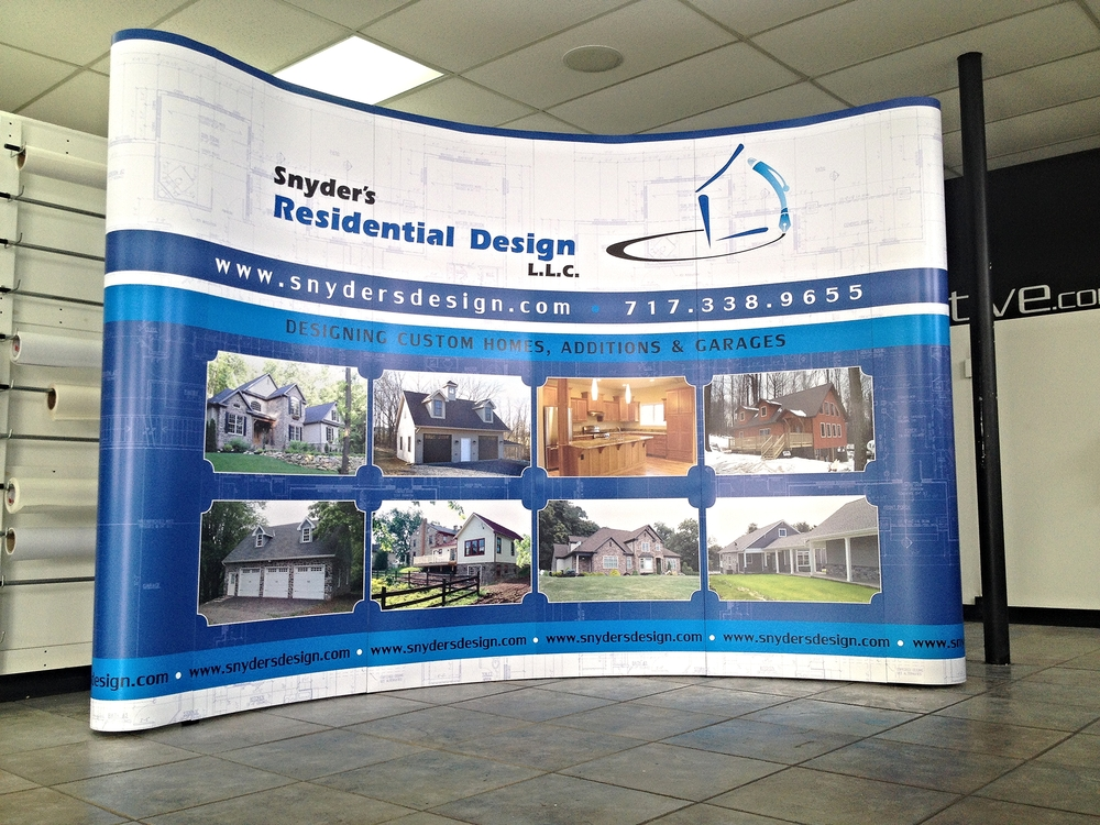 Graphics | Snyder's Residential Design Trade Show Display | Hanover, PA