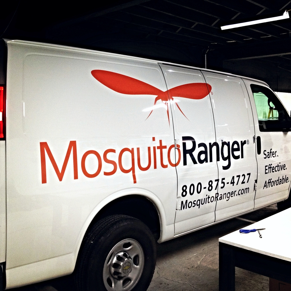 Graphics | Mosquito Ranger Vehicle Wrap | Westminster, MD