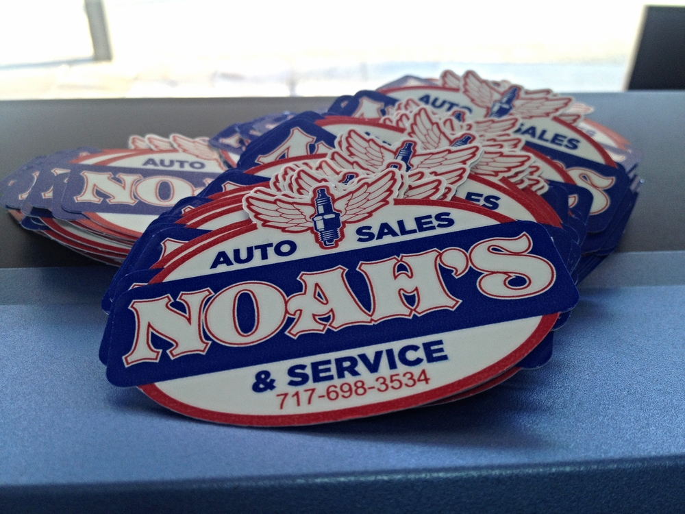 Graphics | Noah's Auto Sales & Service Decals | Hanover, PA