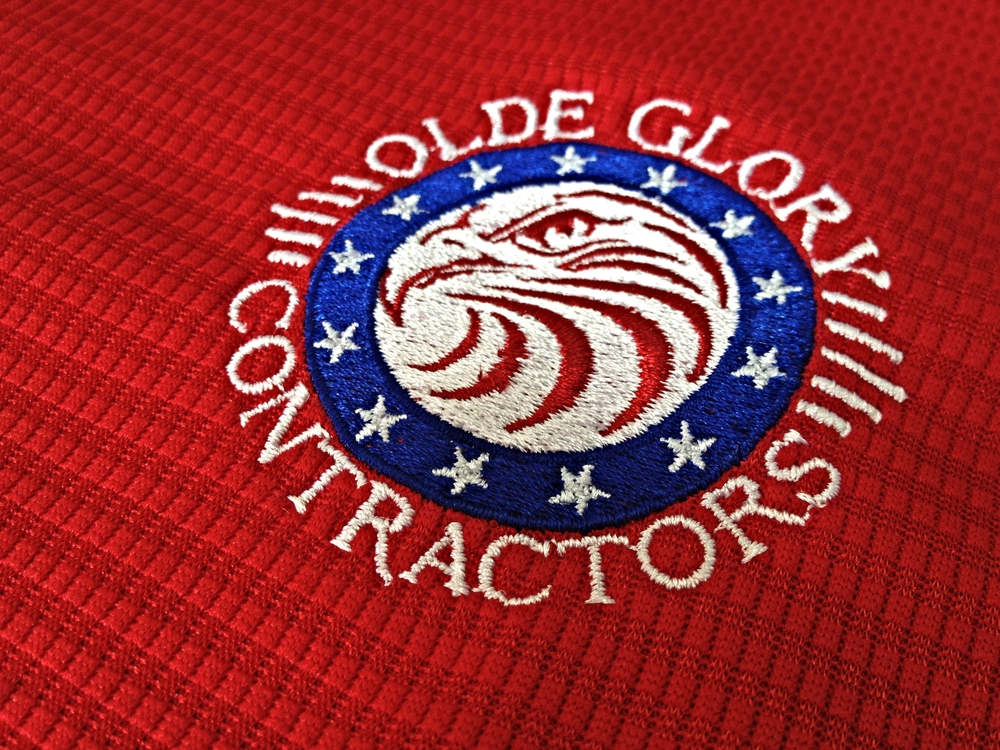 Embroidery | Olde Glory Contractors Polo | Hanover, PA