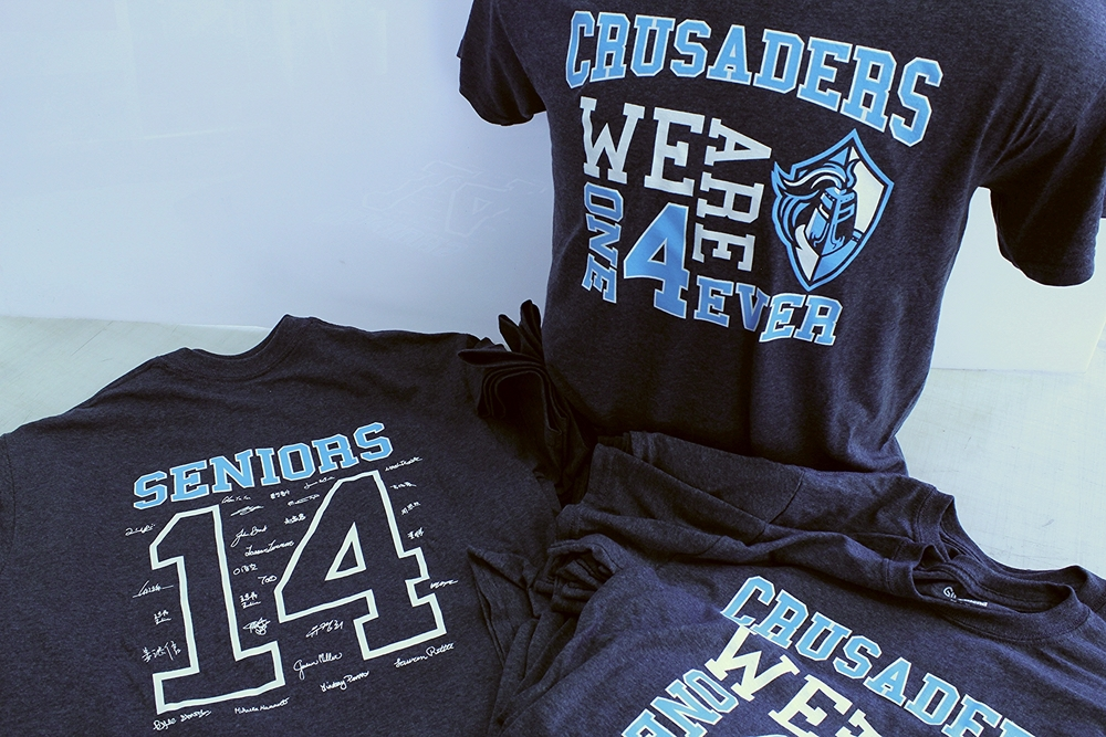 Screen Printing | CSY Crusaders Seniors 14 Shirt | York, PA