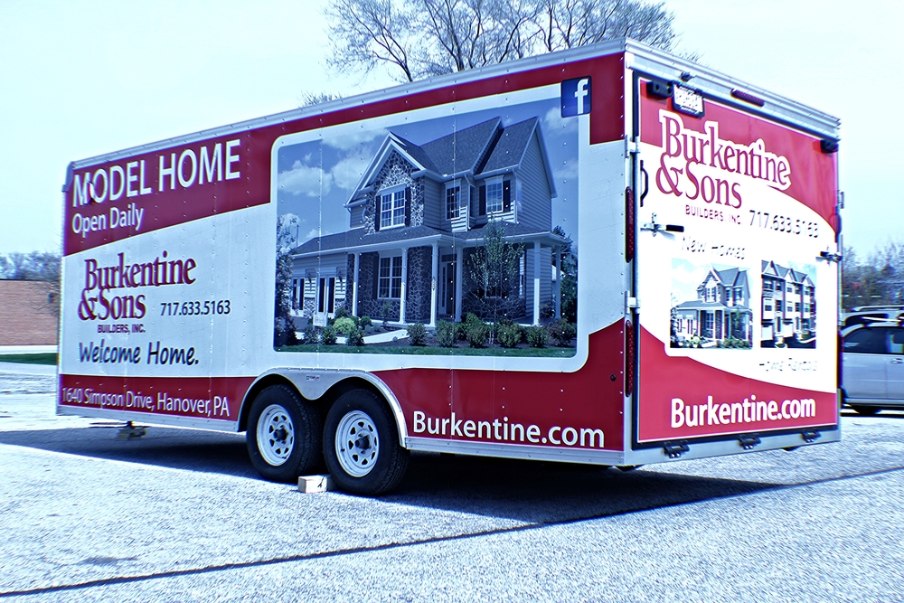 Graphics | Burkentine & Sons Trailer Wrap | Hanover, PA