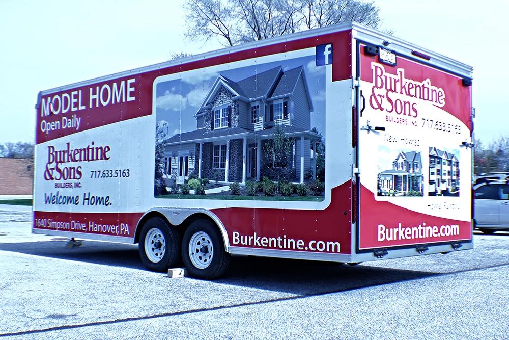 Graphics Burkentine Amp Sons Trailer Wrap Hanover Pa