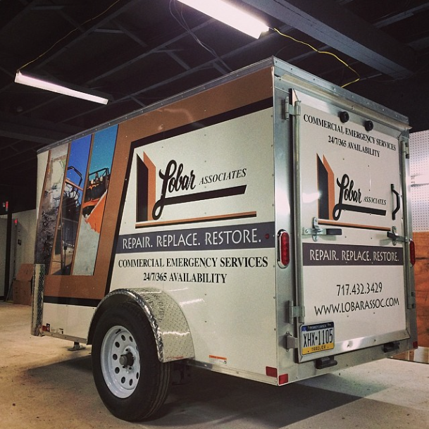 Graphics | Lobar Associates Trailer Wrap | Dillsburg, PA