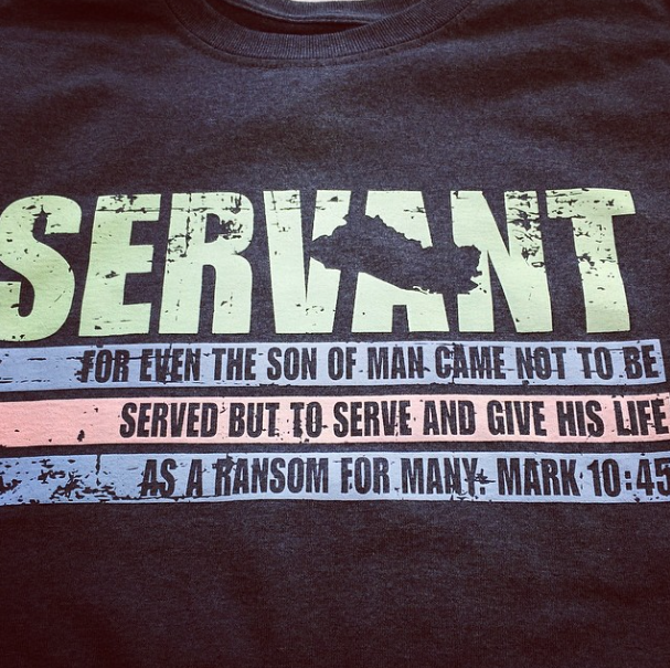 Screen Printing | El Salvador Mission: Servant Shirt | Hanover, PA