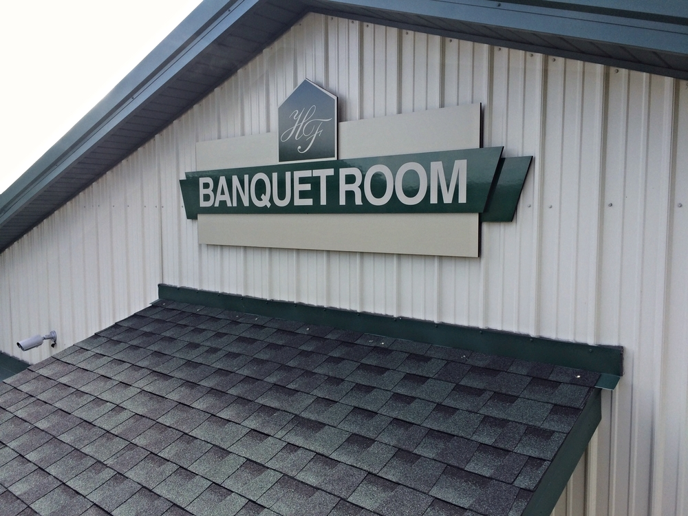 Signs | Hickory Falls Banquet Room Sign | Hanover, PA
