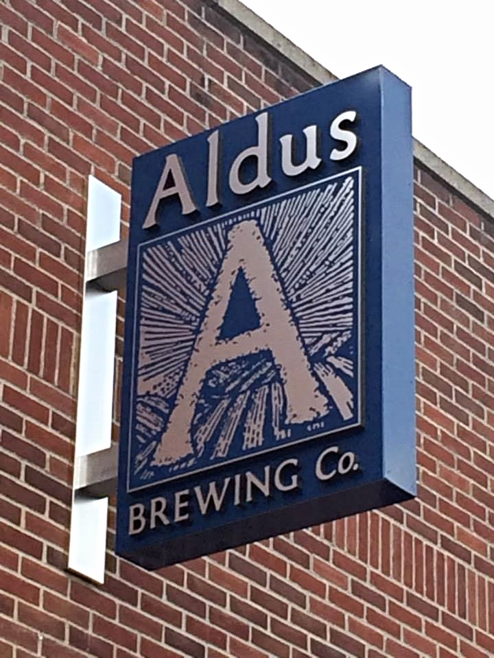 Signs | Aldus Brewing Company Sign | Hanover, PA
