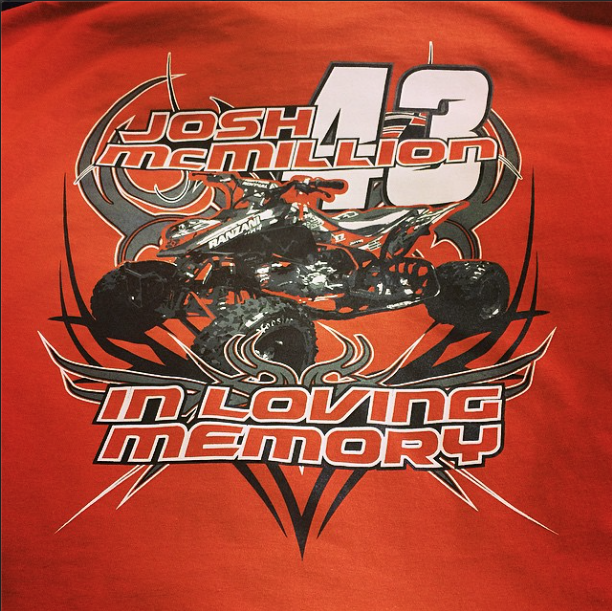 Screen Printing | Josh McMillion In Loving Memory Shirt | Hanover, PA