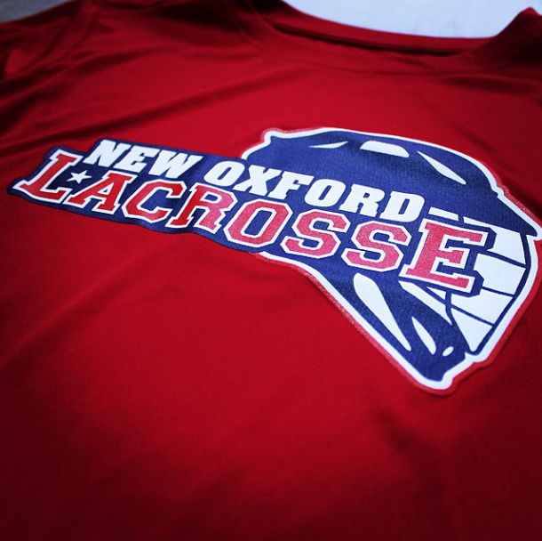 Screen Printing | New Oxford Lacrosse Shirt | New Oxford, PA