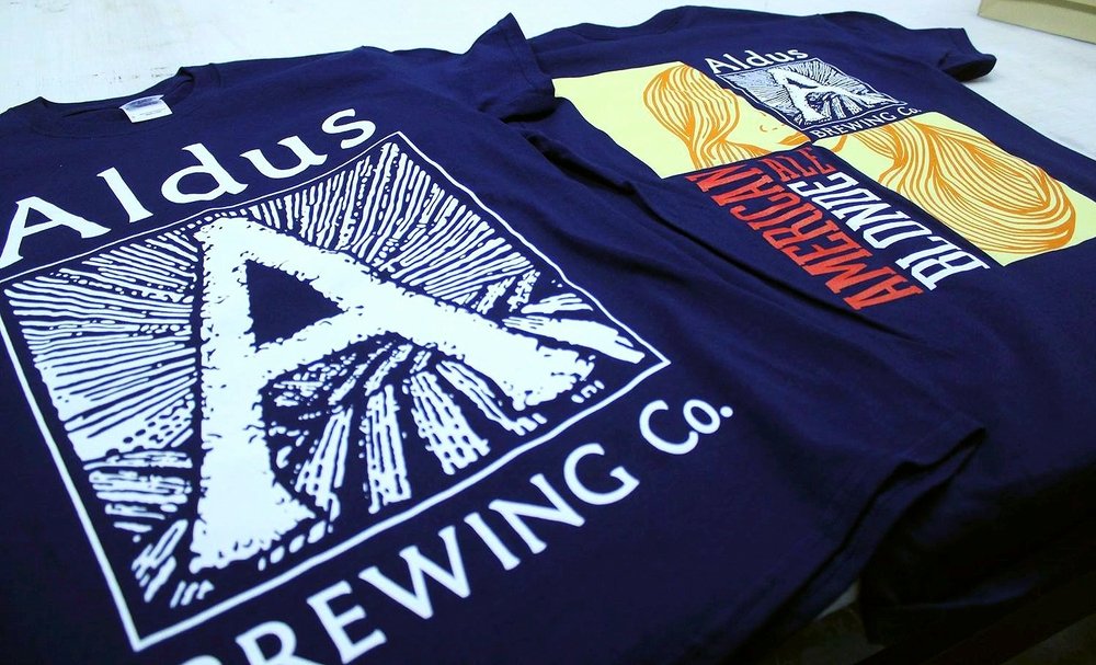 Screen Printing | Aldus Brewing Company Shirt | Hanover, PA