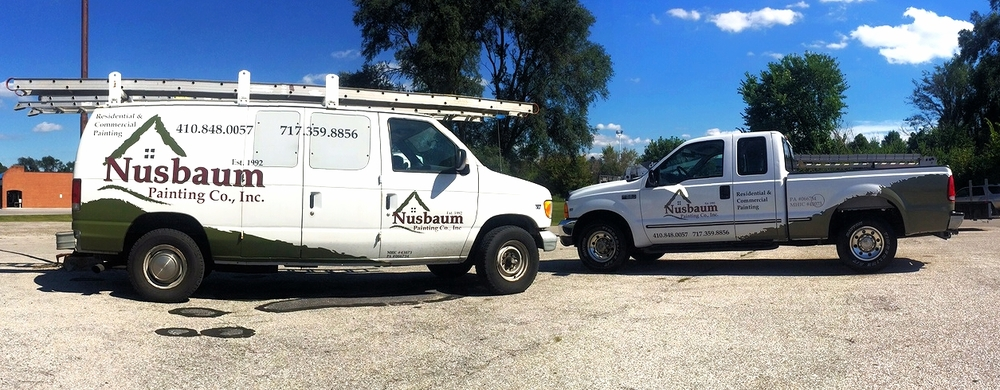 Graphics | Nusbaum Painting Vehicle Wrap | Westminster, MD