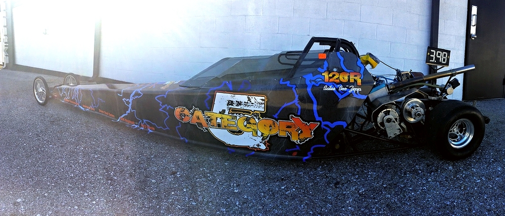 Graphics | Category 5 Junior Dragster Wrap | Hanover, PA