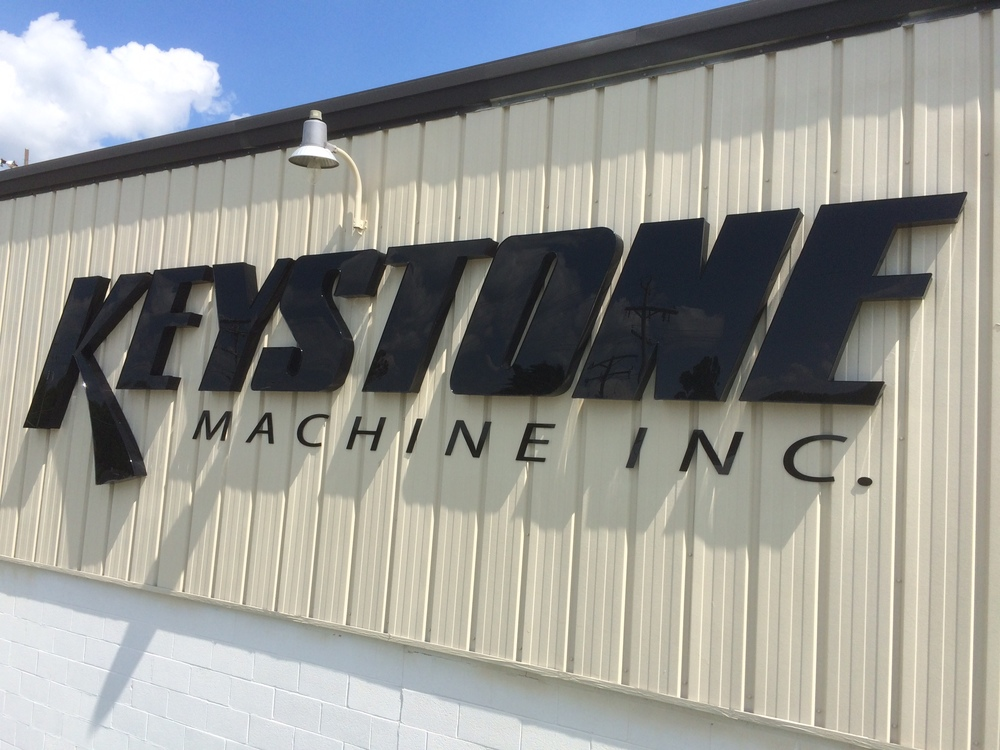 Signs | Keystone Machine Sign | Hanover, PA