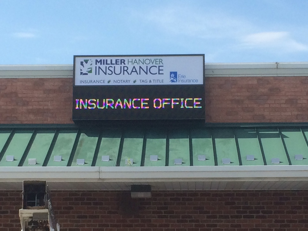 Signs | Miller Insurance Sign | New Oxford, PA
