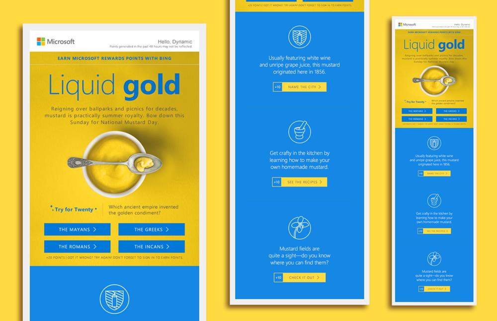 Microsoft Rewards — Nathan James | Designer + Art Director