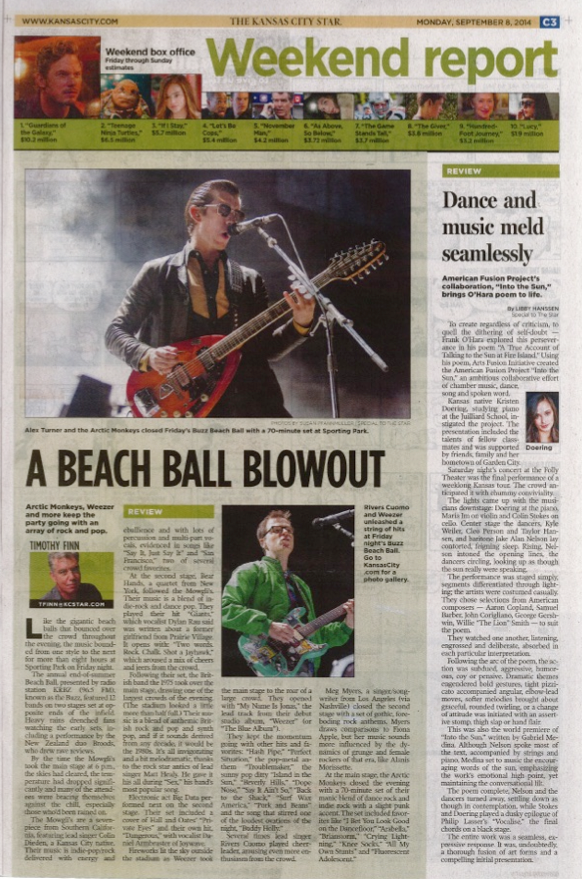 Kansas City Star Review - Into the Sun