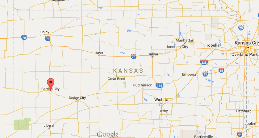 Our hot-spot destination - - Garden City, Kansas!