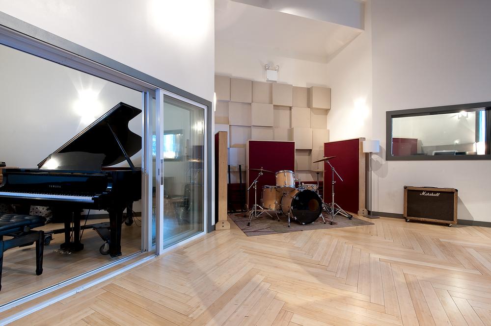 Mezzanine Live Room Studio
